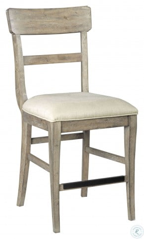 The Nook Heathered Oak Counter Height Chair Set Of 2