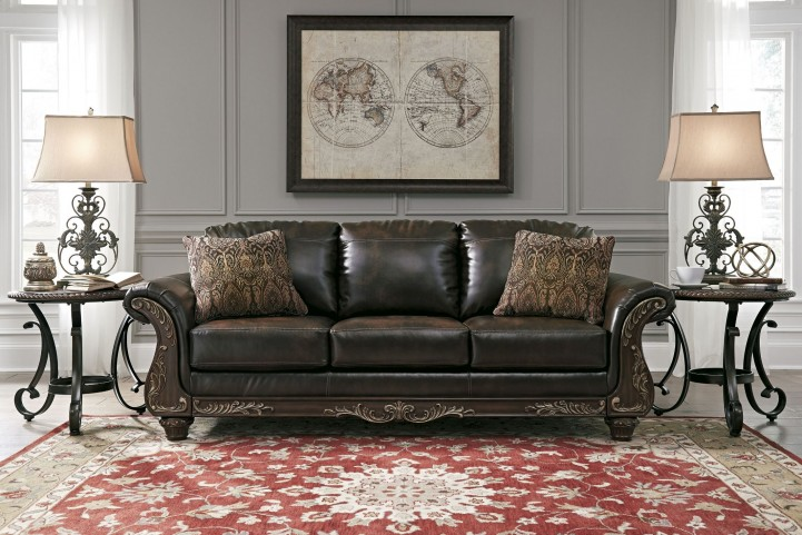 Vanceton Brown Sofa