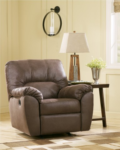 Amazon Walnut Rocker Recliner