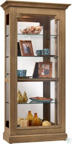 Caden Brown Curio Cabinet