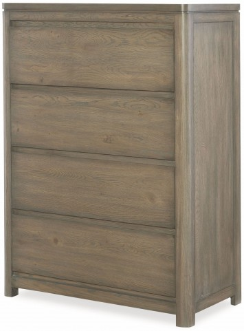 Big Sky by Wendy Bellissimo Weathered Oak 4 Drawer Drawer Chest