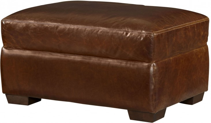 Oliver Brompton Milled Ottoman