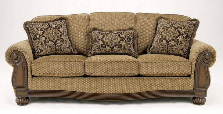 Lynnwood Amber Stationary Sofa