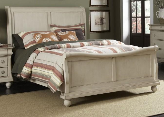 Rustic Traditions II Queen Sleigh Bed