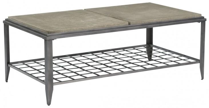 Modern Classics Grid Rectangular Cocktail Table