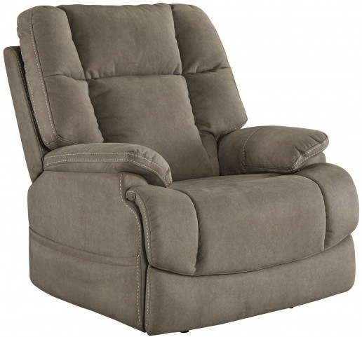 Fourche Latte Power Recliner With Adjustable Headrest