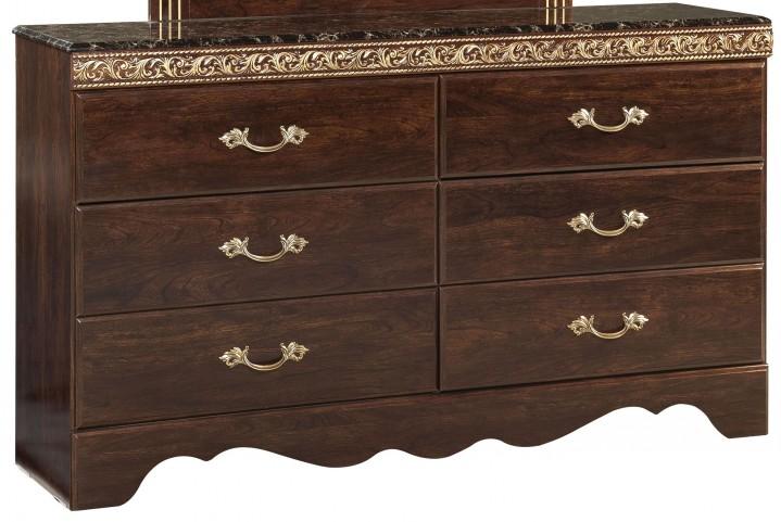 Odessa Cherry 6 Drawer Dresser