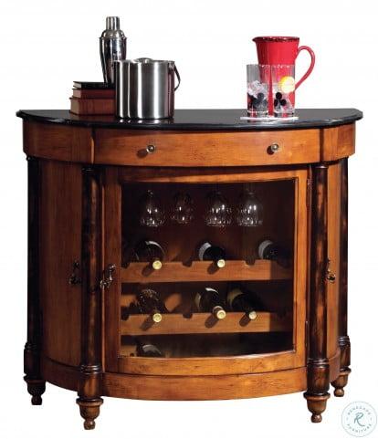 Merlot Valley Wine & Bar Cabinet