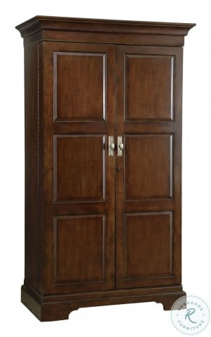 Sonoma II Cherry Bordeaux Wine And Bar Cabinet