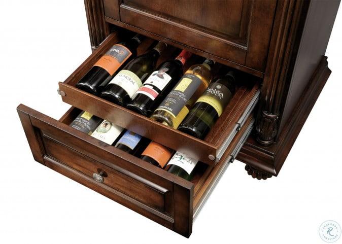 Cognac Wine & Bar Cabinet