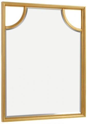 Virage Antique Gold Leaf Portrait Mirror