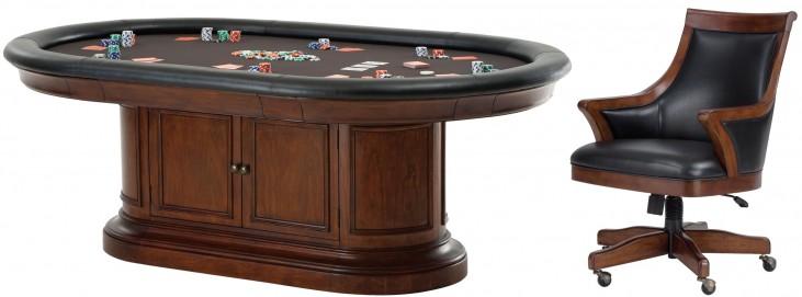Bonavista Poker Game Table Set