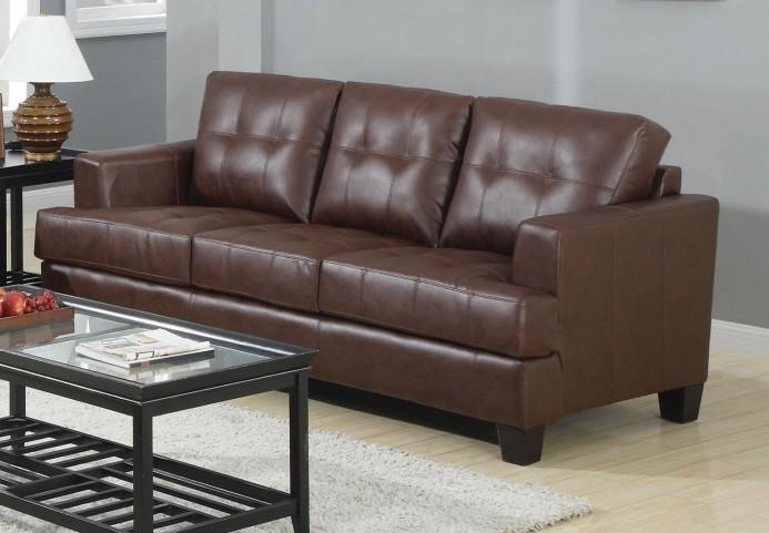 Samuel Dark Brown Sofa