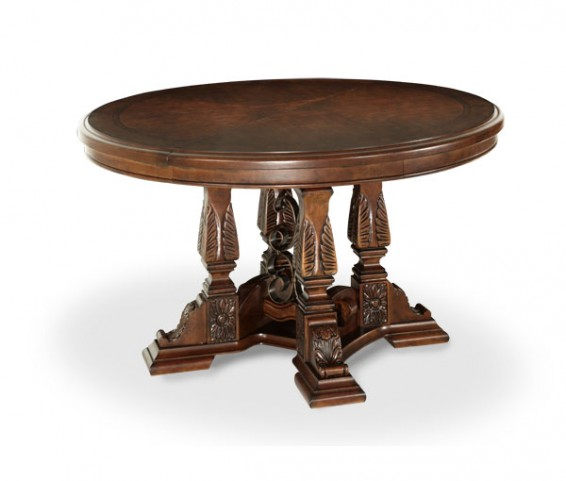 Windsor Court Round Extendable Dining Table