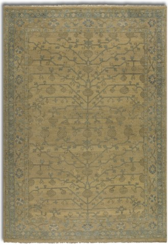 Bankura Pale Gold Small Rug