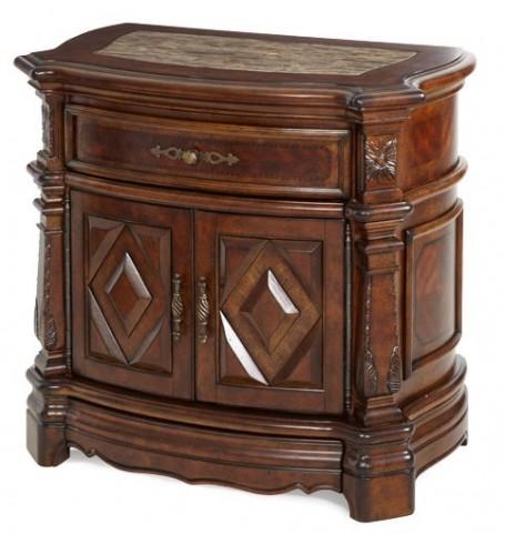 Windsor Court Marble Top Nightstand