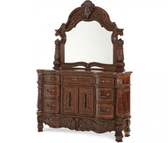Windsor Court Dresser with Mirror