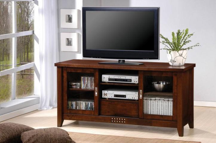 Walnut TV Console 700619