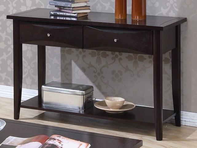 Whitehall Black Sofa Table