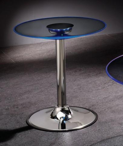 LED Chrome End Table 701497
