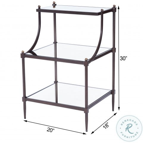 Metalworks 7015025 Tiered Side Table