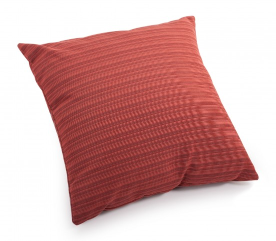 Doggy Rust Red Small Pillow