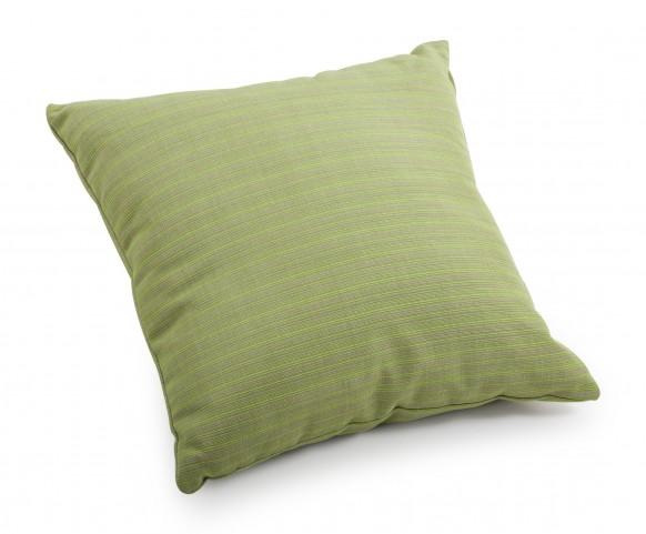 Cat Apple Green Linen Small Pillow