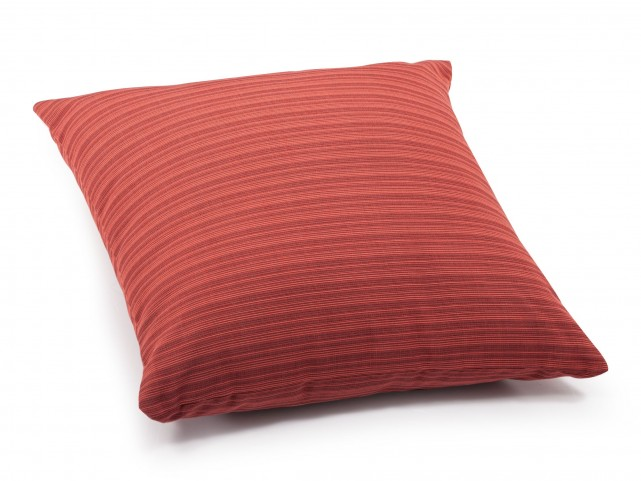 Doggy Rust Red Large Pillow