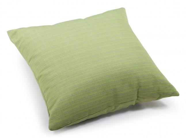 Cat Apple Green Linen Large Pillow