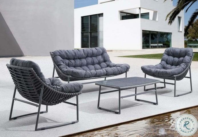 Ingonish Beach Gray Living Room Set