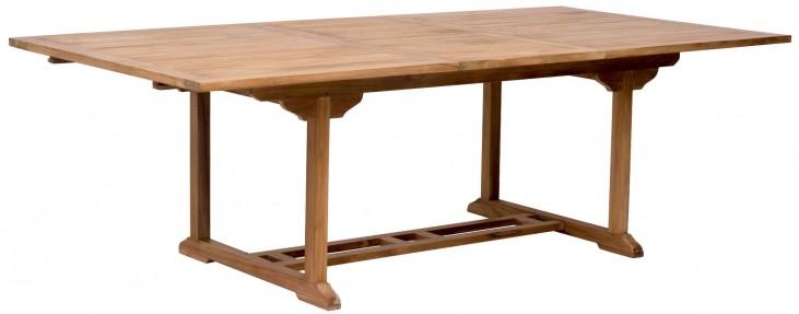 Regatta Natural Extendable Rectangular Dining Table