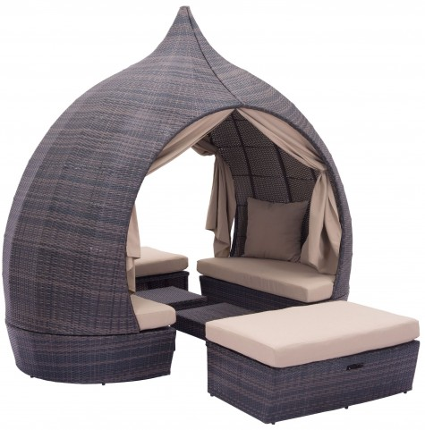 Majorca Brown & Beige Daybed