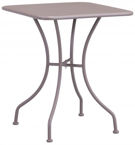 Oz Taupe Square Dining Table