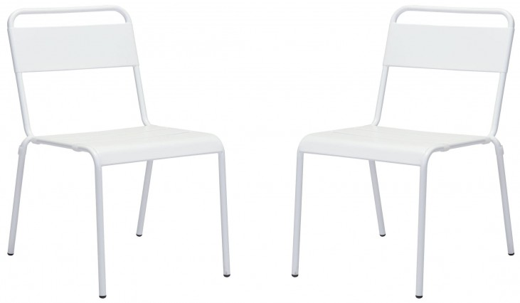 Oh White Dining Chair Set of 2