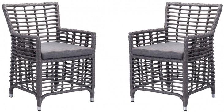 Sandbanks Gray Dining Chair Set of 2