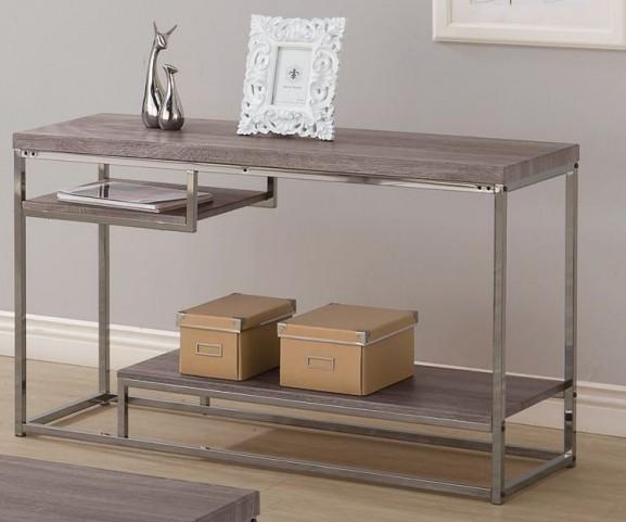 703729 Weathered Grey Sofa Table
