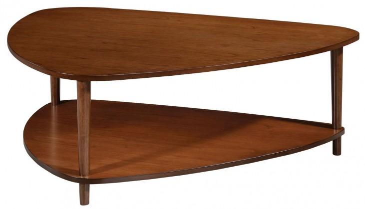 Walnut Guitar Pick Coffee Table