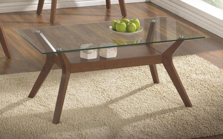 704168 Glass Top Coffee Table