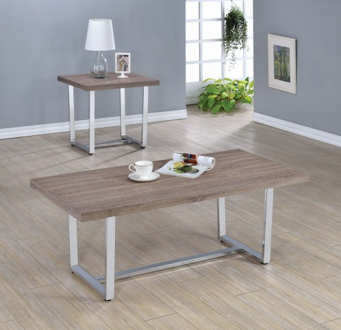 Weathered Taupe Occasional Table Set