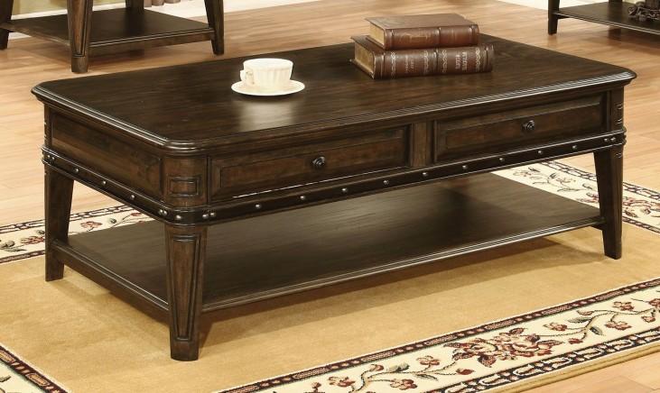 Dull Black Coffee Table