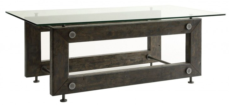 Tempered glass top coffee table from coaster 704278 for Tempered glass coffee table