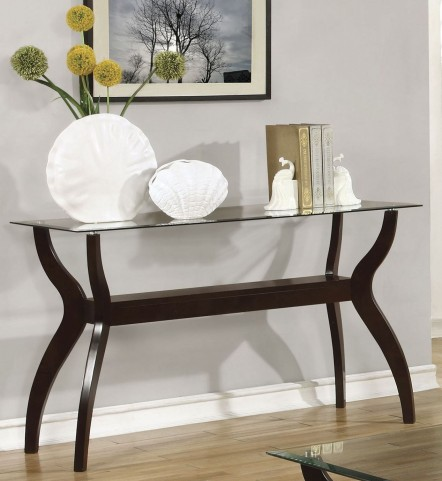 Cappuccino Sofa Table