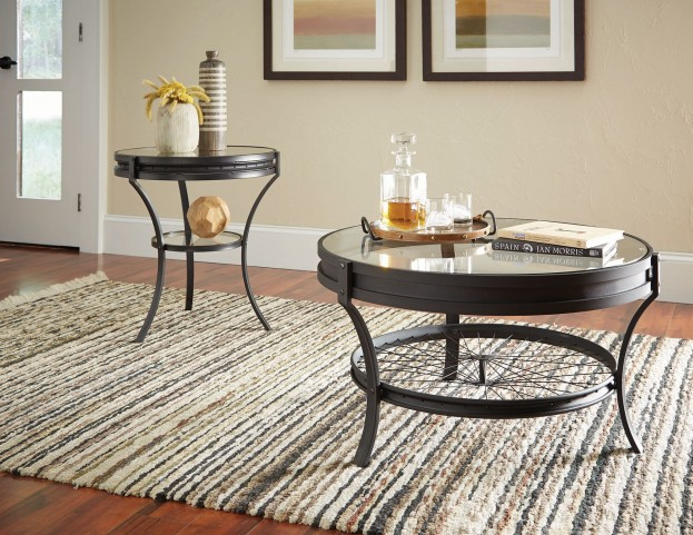 Sandy Black Occasional Table Set