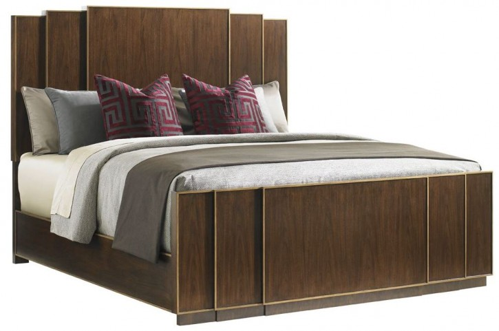 Tower Place Fairmont King Panel Bed