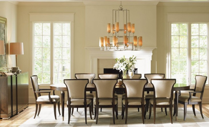 Tower Place Drake Oval Extendable Dining Room Set
