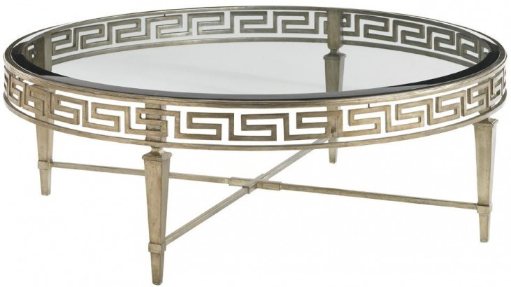 Tower Place Deerfield Round Cocktail Table
