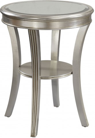 Kenney Silver Leaf Accent Table