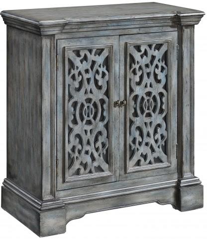 Midvale Texture Grey Blue 2 Door Cabinet