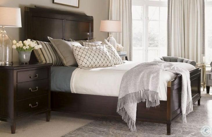 Kensington Place Bennington Panel Bedroom Set From Lexington 708 133c Coleman Furniture