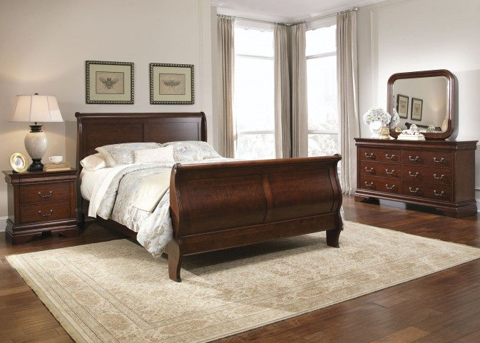 Carriage Court Sleigh Bedroom Set